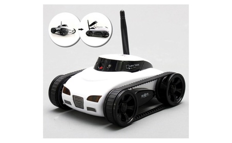 All Mighty Toy Tank with Wireless Camera and Remote Control App 92126d1f-1783-4391-a2f1-5b5b314ca471