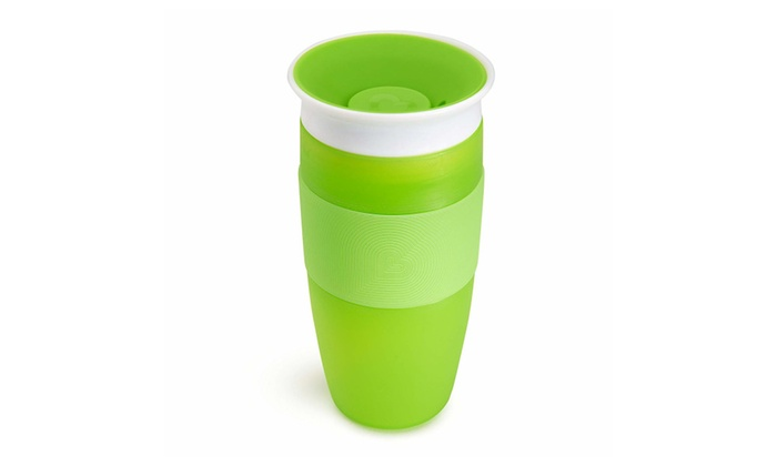 Green 14 Ounce Munchkin Miracle 360 Sippy Cup