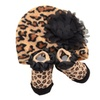 Cheetah Beanie Hat & Sock Gift Set Infant
