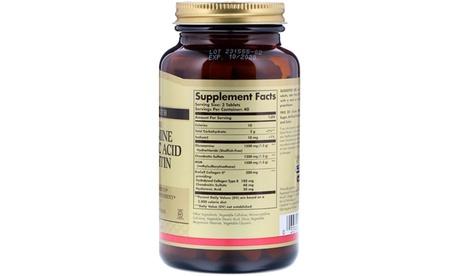 Solgar Glucosamine Hyaluronic Acid Chondroitin MSM (Shellfish-Free)