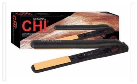 "Chi Pro 1"" Ceramic Flat Iron Hair Straightener Professional Iron 20fd2667-4983-4dbc-b929-e1af401dae5d"