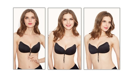 Self Adhesive Push-up Strapless Bra b2e29e8a-06ca-4dfa-8828-98c1581dbf84
