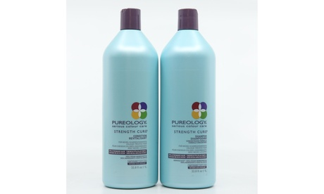 Pureology Strength Cure Shampoo and Conditioner Liter Duo