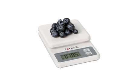 Taylor Precision Products Scale Food Digital White 11Lb 3817 photo
