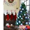 7' Pre-Lit Fiber Optic Artificial Christmas Tree w/Multi-Color Lights