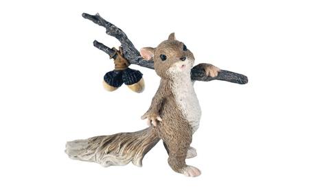 Home Garden Decor Squirrel Chipmunk Hobo Miniature Doll cf8008c8-1871-4b16-ad9e-7b674541b07a
