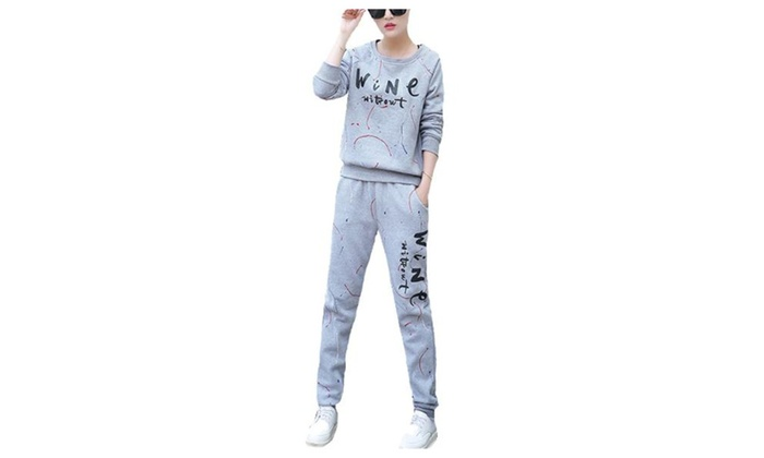 Women's Casual Long Insulation Straight Tracksuits