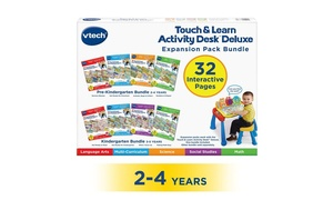 Touch and Learn 4-in-1 Deluxe Preschool Expansion Pack Bundle