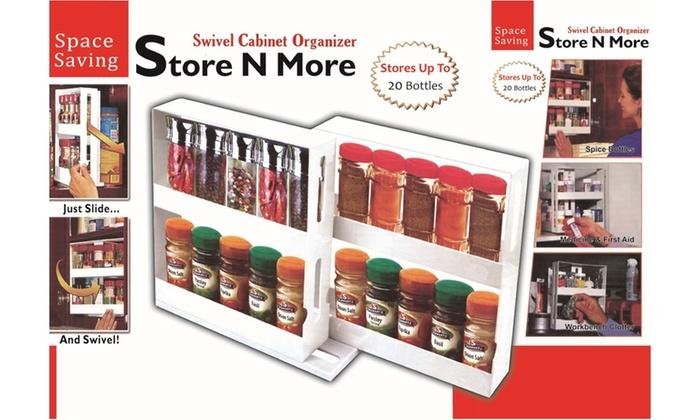 Beau Store N More Swivel Cabinet Organizer ...