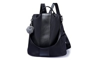 Backpack Purse Fashion Women Waterproof Anti-Theft School Shoulder Bag (STYLE SOLID) photo