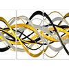HelixExpression - Large Abstract Canvas Art Print - 48x24