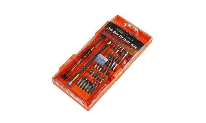 54 Bit Driver Kit Torx Screwdriver Repair Tools For Controller Phone