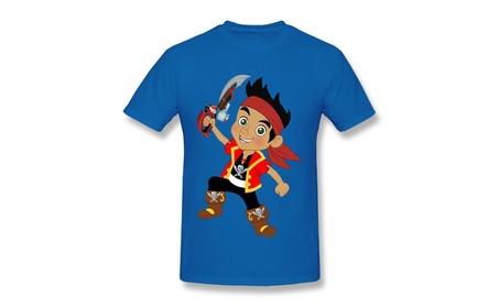 Wezsf Cartoon Jake And The Neverland Pirates Royal Blue Tee 07b2051c-c16f-4dd6-a84f-768e20bc2d04