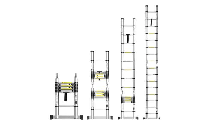 Ollieroo 16 5 Feet Portable Aluminum Telescopic Extension