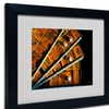Lois Bryan 'Mad For Mahjong' Matted Black Framed Art