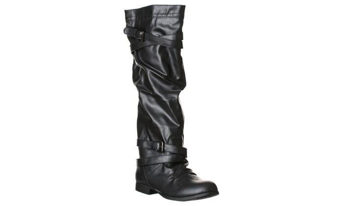 Madden Girl by Steve Madden Women's 'Andris' Knee-High Boots, Black