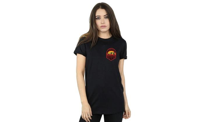 Ready Player One Girls Gunter Life Breast Logo Sweatshirt