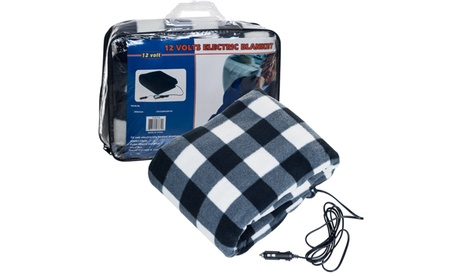 12 Volt Plaid Electric Blanket for Auto and Home e2a603d2-3e23-45d3-9d6f-0ecae493041c