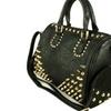 MyLux  Faux Leather Shoulder Handbag With Spiky