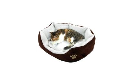 Pet Dog Nest Cat Cute Soft Bed Fleece Warm House Kennel Plush 833411ee-931e-4a5b-8323-01ee6972ded7