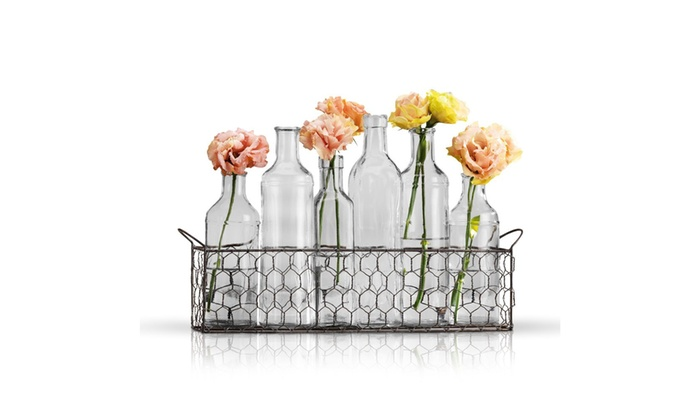 53ef75acaab Up To 62% Off on Small Bud Glass Vases in Blac...