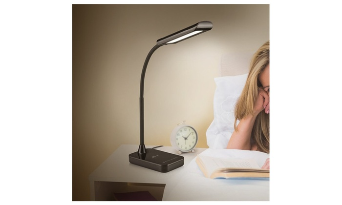 LED  gooseneck table  and desk lamp  touch control 7 brightness level