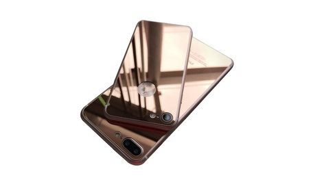 Mirror Effect Front Back Color Temper Glass Screen Protector iPhone 7+ ca943f96-c915-4e58-b867-c39bea9c7d12