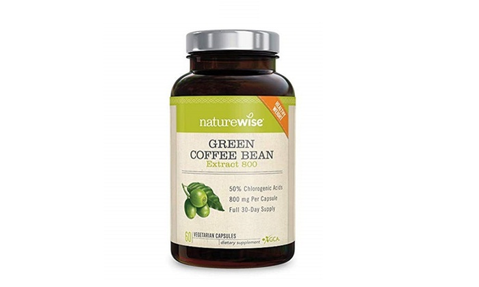 Up To 34 Off On Naturewise Green Coffee Bean Groupon Goods