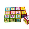 Kids 6 Puzzles In 1 Cube Puzzle Alphabet Number Picture Educational.