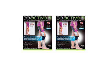 2 Be ACTIVE Brace Beactive Acupressure for Sciatica Pain