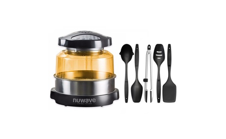 Nuwave Elite Oven w/ 5 Piece Nylon Cooking Utensil Set bd7a89bb-a917-49e8-947c-85ce885fba64