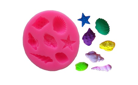 Star Fish Silicone Mould Cake Chocolate Ice Decorating Mold eb11631e-f4e7-4675-aa7e-3bc2d495413d