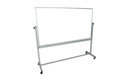 Educational Silver Framed Magnetic Dry Erase Portable Whiteboard da10b34b-2351-4890-a306-f4450f3a9d5b