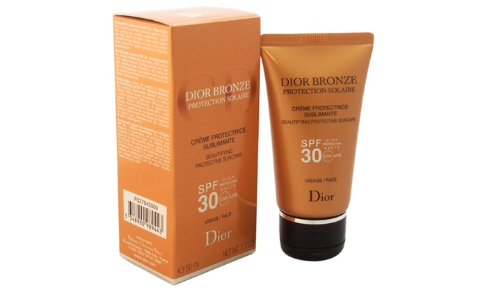 6f7277d45 Christian Dior Bronze Beautifying Protective Suncare SPF30 For Face ...