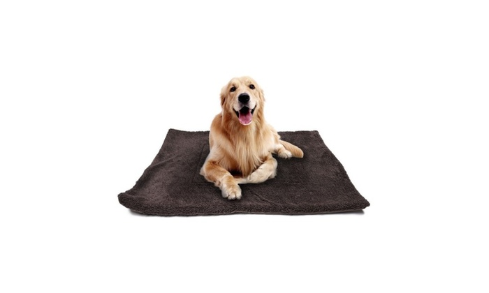 f4c9ad44de999 Waterproof Warm Soft Fleece Pet Blanket Large Cat Dog Bed Mat Pad ...