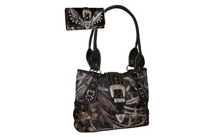 Gold Rush Designer Should Bag Wallet Set (Goods Women's Fashion Accessories Handbags) photo
