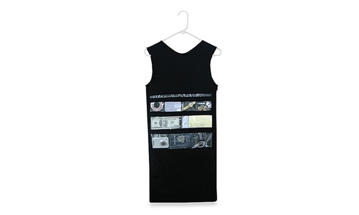 Merveilleux ... Zipped Tank Top Shaped Hanging Closet Safe Hidden Spy Organizer ...