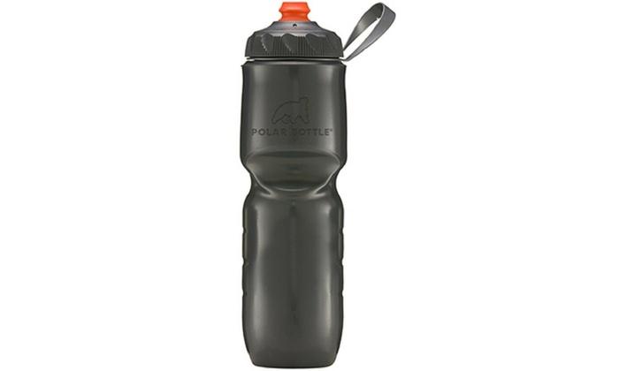 Cycling Sport Water Bottle Zip Stream Polar ZipStream 24oz Insulated Bike