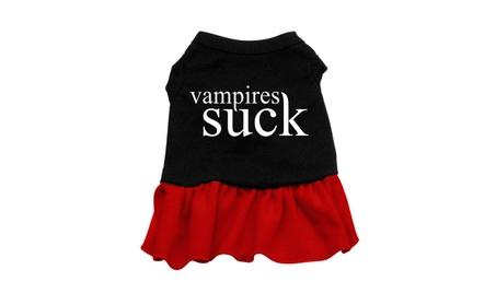 Vampires Suck Pet Dress d099ea41-776c-4b9d-ab71-5201438b8144