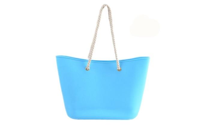 Uniq Silicone Beach Bag By Ladybug Handbags