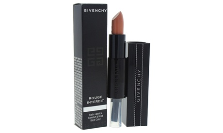 Givenchy Rouge Interdit Satin Lipstick - # 01 Secret Nude Lipstick 40887be9-f908-4bea-b356-e08208c15274