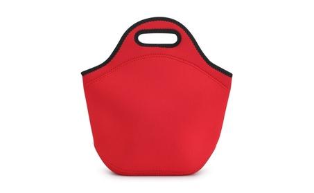 Insulated Neoprene Lunch Bag 9f944fa6-555a-476f-8082-8040c5b87e0b