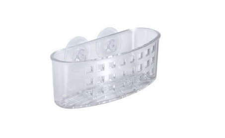 InterDesign Kitchen Sink Suction Holder for Sponges, Scrubbers, Soap a2ea4825-79eb-4328-837b-fdd8d772d647