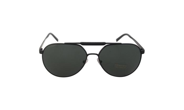 Versace VE 2155 1261/71 - Matte Black/Grey Green