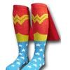 Wonder Woman Superhero Cape Knee High Socks