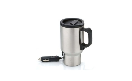 Stainless Steel Travel Coffee Mug Cup Heated Thermos Chargeable d72299be-1661-4752-a93a-0abe3e7e6055