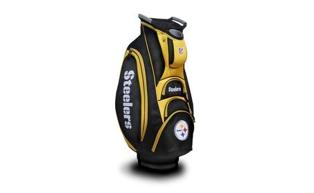 Team Golf 32473 Pittsburgh Steelers Victory Cart Bag d2f8b0ca-8082-41fb-927b-7740cdb0415e