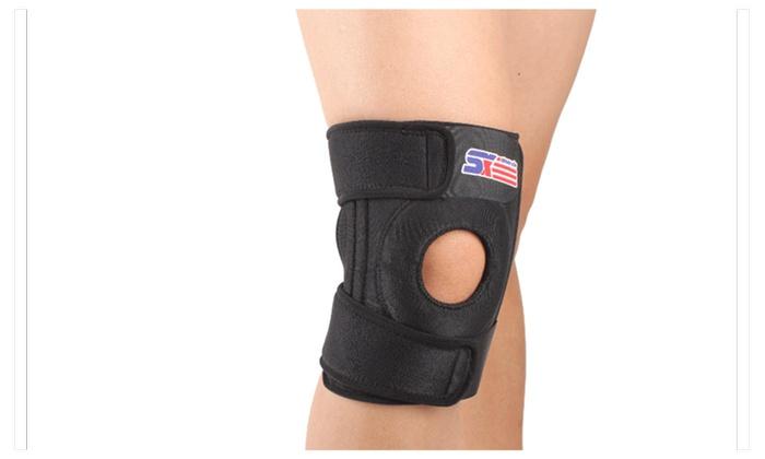 Adjustable Knee Patella Support Brace Sleeve Wrap Cap Stabilizer Sport