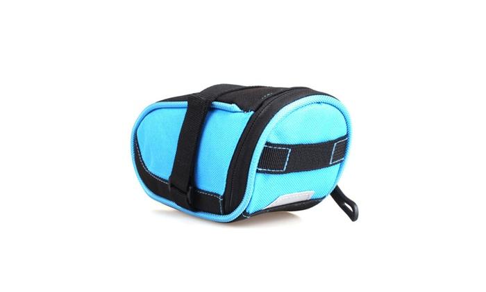 Bicycle Nylon Waterproof Saddle Bag Wedge Rear Seat Mountain Bike