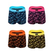 Boxer Briefs Mens Underwear Men 4 Packs Printed Breather Boxer